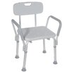 Drive Medical Bath Bench with Padded Arms