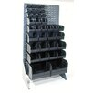 Quantum Storage Conductive Single Sided Louvered Rack