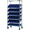"<strong>Quantum Storage</strong> Slanted Pick 72"" H 6 Shelf Shelving Unit Starter"