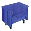 """Quantum Storage 15 1/4"""" Mobile Giant Stack Container (Set of 3)"""