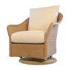 Lloyd Flanders Weekend Swivel Glider Chair with Cushion