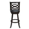 "<strong>Seina 29"" Swivel Bar Stool with Cushion</strong> by Boraam Industries Inc"