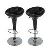 Boraam Industries Inc Luna Scoop Adjustable Height Swivel Bar Stool (Set of 2)