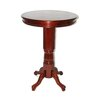 Florence Pedestal Pub Table in English Tudor