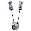 <strong>Stake with Torch (Set of 2)</strong> by Pangaea Home and Garden