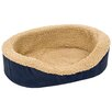 Petmate Plush Lounger Bolster Dog Bed