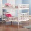 Atlantic Furniture Woodland Full Over Full Standard Bunk Bed