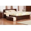 Atlantic Furniture Orlando King Storage Panel Bed