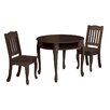 <strong>Windsor 3 Piece Round Table and Chair Set</strong> by Teamson Kids