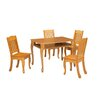 Windsor 3 Piece Rectangular Table and Chair Set