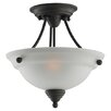 <strong>Albany 2 Light Semi Flush Mount</strong> by Sea Gull Lighting