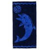 Simple Luxury Superior Playing Dolphin Beach Towel