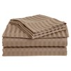 <strong>Vanessa 1500 TC Microfiber Stripe Sheet Set</strong> by Simple Luxury