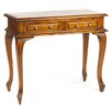Mahogany Village Cab Leg Console Table