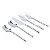 Gourmet Settings Handmade 20 Piece Tear Flatware Set