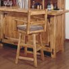 "<strong>Artisan Home Furniture</strong> Lodge 100 24"" Swivel Arm Bar Stool"
