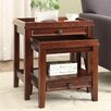 Linon Wander 2 Piece Nesting Tables