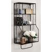 Linon Distressed Wall Storage Organizer