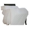 <strong>Greenland Home Fashions</strong> Cotton Ruffled Throw
