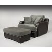 <strong>Wildon Home ®</strong> Rosaline Chair and Ottoman