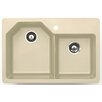 "<strong>Astracast</strong> 33"" x 22"" Arion Granite ROK Double Bowl Kitchen Sink"