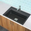 "Astracast 33"" x 22"" Workcenter Granite ROK Single Bowl Kitchen Sink"
