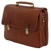 <strong>Dr. Koffer Fine Leather Accessories</strong> Troy Leather Laptop Briefcase
