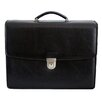 <strong>Dr. Koffer Fine Leather Accessories</strong> Barry Leather Laptop Briefcase