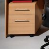 <strong>Sun 2 Drawers Pedestal in Beech</strong> by Bush Europe