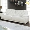 Global Furniture USA 89'' Leather Sofa
