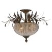 <strong>Uttermost</strong> Cristal de Lisbon 3 light Semi Flush Mount
