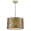 <strong>Alita 3 Light Drum Foyer Pendant</strong> by Uttermost