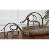 <strong>Uttermost</strong> Metal Elephant Statue (Set of 2)