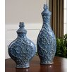 Uttermost 2 Piece Aoi Decorative Urn Set
