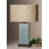 "Uttermost Lupara 29"" H Table Lamp with Rectangle Shade"