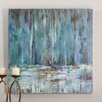 <strong>Blue Waterfall Original Painting on Canvas</strong> by Uttermost