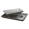 <strong>Uttermost</strong> Alanna Tray Set in Matte Black (Set of 2)