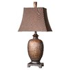 """Uttermost Amarion 33"""" H Table Lamp with Rectangle Shade"""