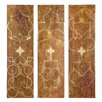 <strong>Uttermost</strong> Scrolled Panel by Grace Feyock 3 Piece Original Painting Set
