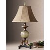 "<strong>Uttermost</strong> Gavet 34"" H Table Lamp with Drum Shade"