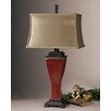 """Uttermost Abiona 33"""" H Table Lamp with Rectangular Shade"""