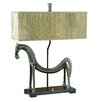"Uttermost Tamil Horse 30"" H Table Lamp with Rectangular Shade"