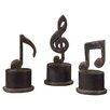 Uttermost 3 Piece Music Note Sculpture Set