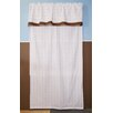 Bacati Baby and Me Cotton Rod Pocket Curtain Panel