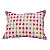 Bacati Botanical Sanctuary String Decorative Pillow