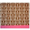 Damask Cotton Curtain Valance