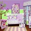 Bacati Botanical Sanctuary 10 Piece Crib Bedding Set with Bumper