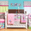 Bacati Botanical Sanctuary 10 Piece Crib Bedding Set