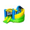 <strong>Jump-A-Lot Curved Double Slide Bounce House</strong> by Island Hopper