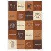 Kracht Frottier Geschirrtuch Kaffee